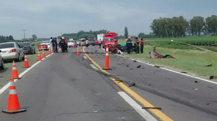 Accidente fatal en Ruta 5: Se cobró 3 vidas
