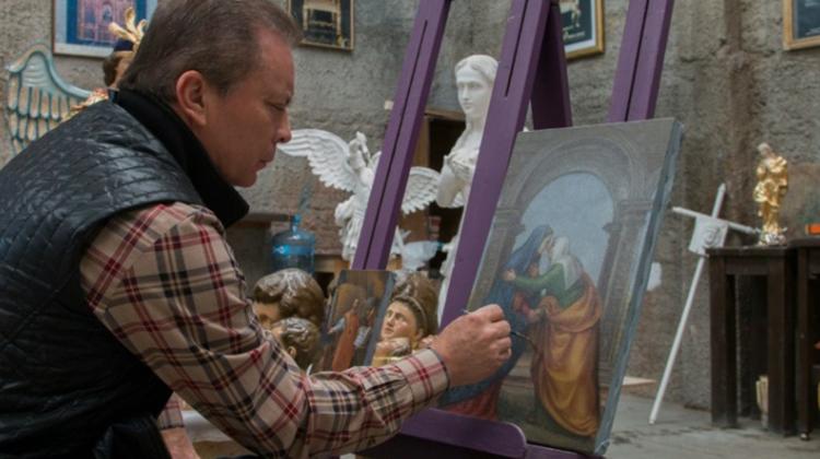 Un artista para el gusto de tres Papas