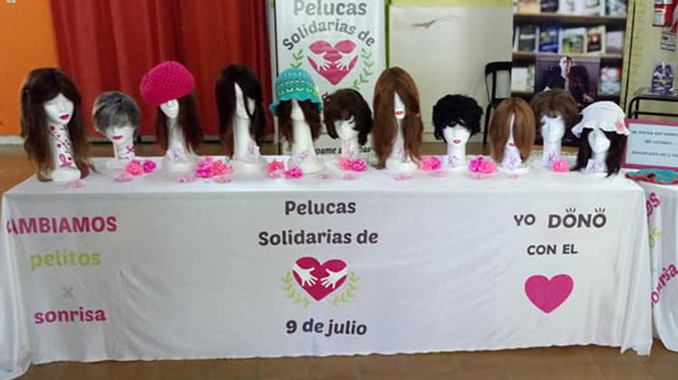 Confección de pelucas oncológicas