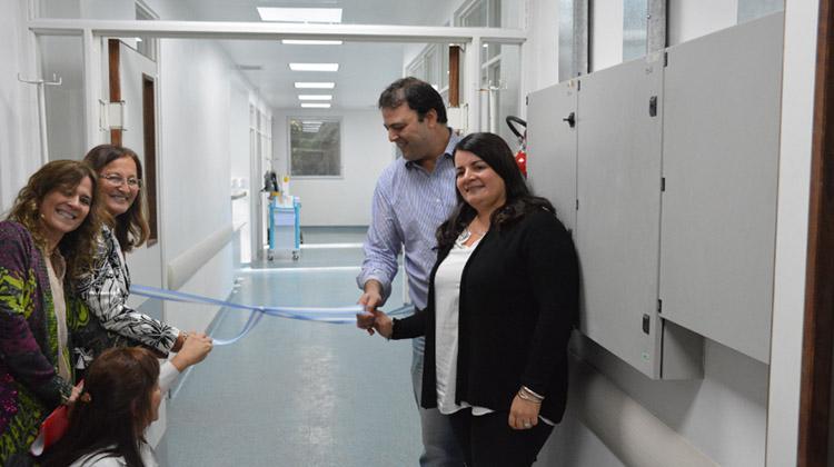 Se inauguró la UTI del Hospital Julio de Vedia