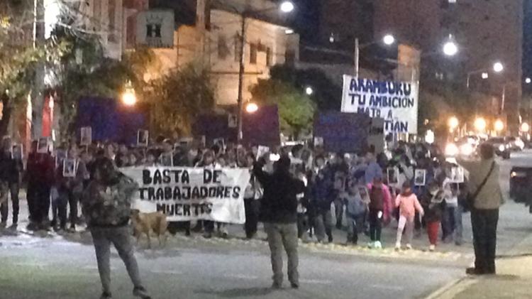 Marcha por Sebastián Agüero