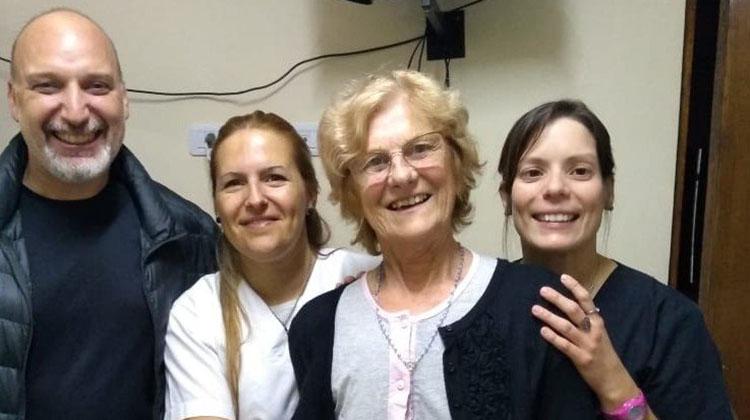 Médico nuevejuliense participó del primer trasplante renal en un hospital público