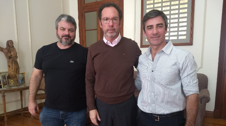 """""""Grillo"""" Rodríguez visitó a Torchio"""
