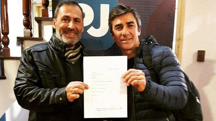 """Grillo"" Rodríguez presentó lista completa"