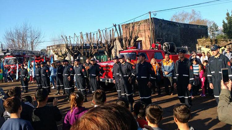 Patricios puso en marcha el Destacamento de Bomberos Voluntarios