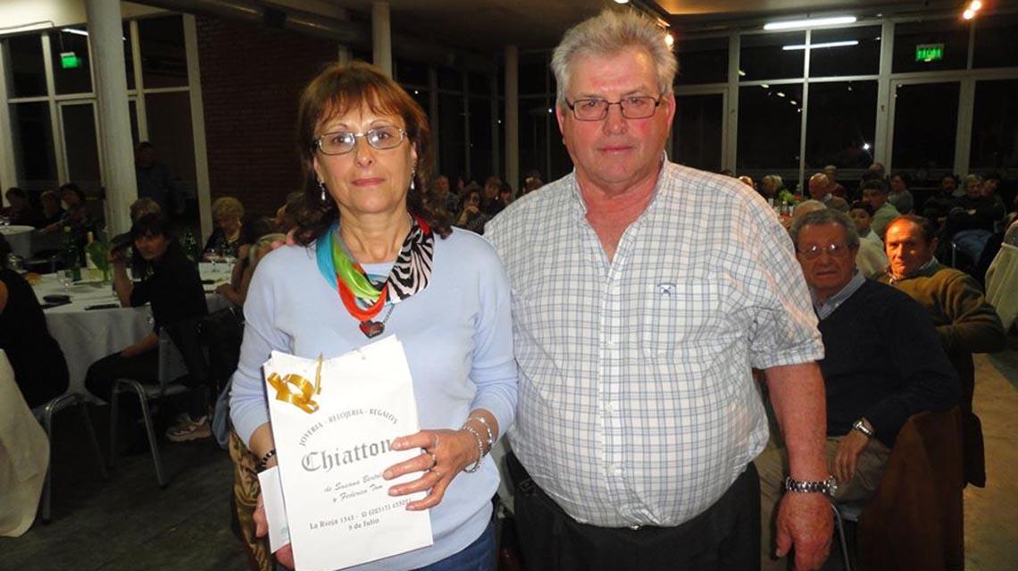 Rogelio Cellotto y María Lujan Amado los agricultores del año