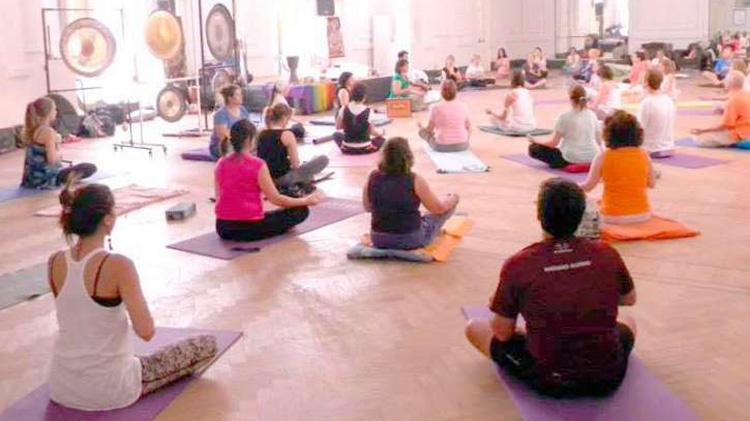 Séptimo festival de yoga