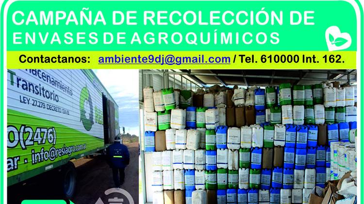 Compra - venta de envases agroquímicos