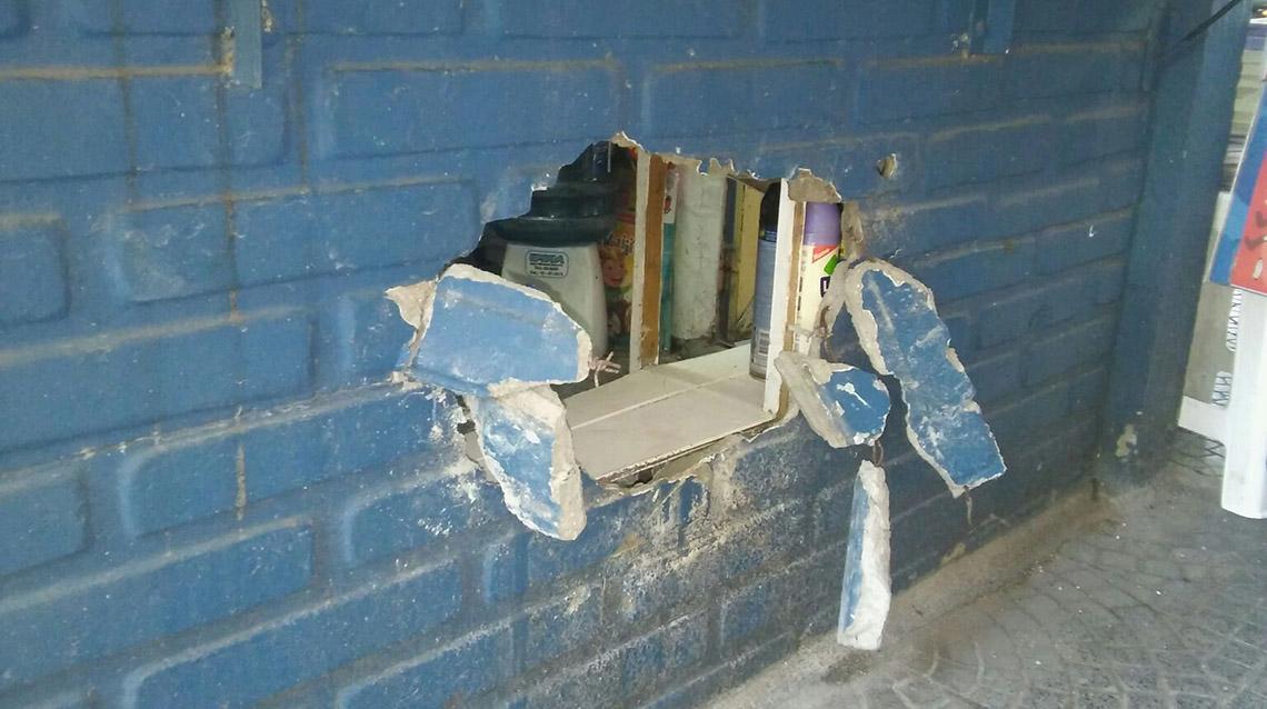 """Boqueteros: robaron en el Kiosco """"Lalo"""""""