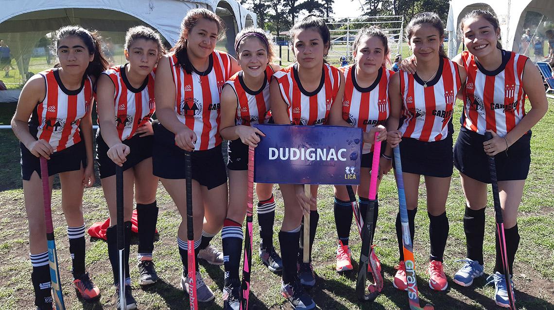 La Escuela de Hockey de Dudignac cerró un gran año en Mar del Plata