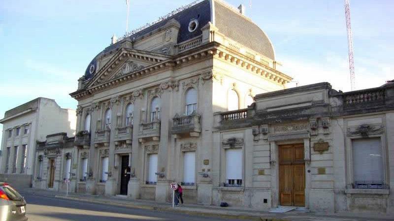 Detenida en el Palacio Municipal