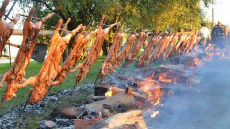 Fiesta del Lechón en Morea
