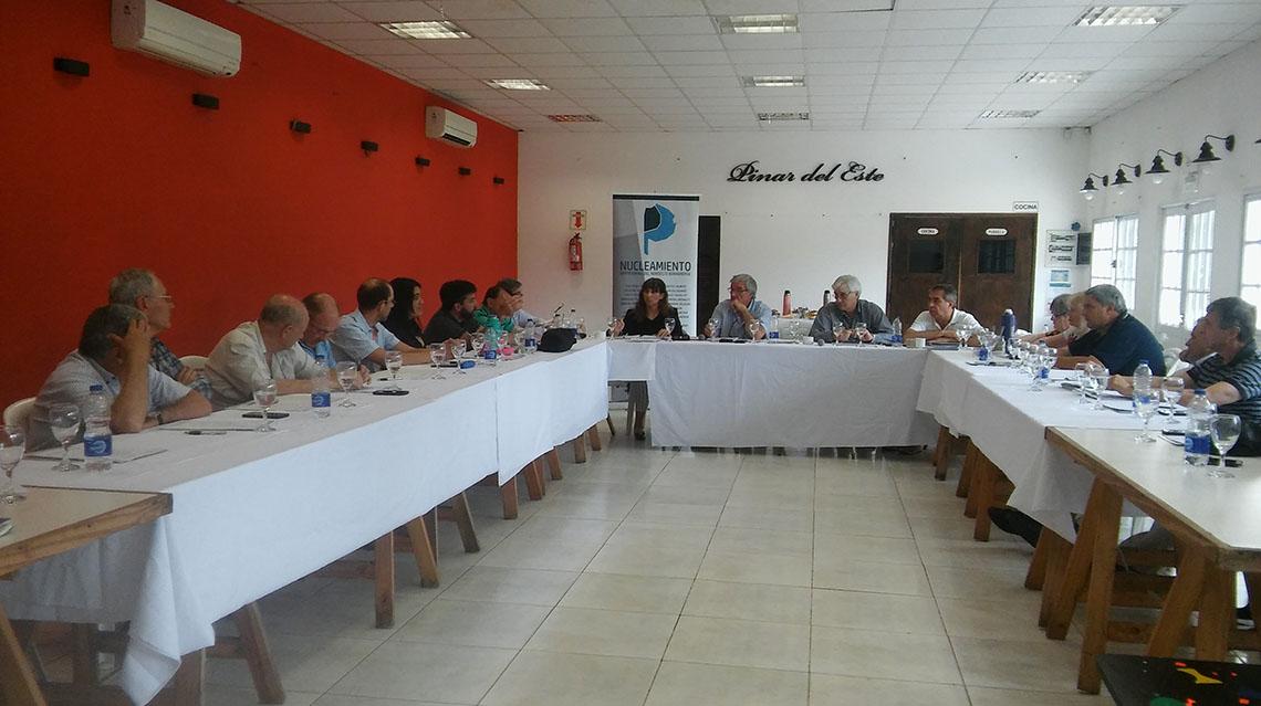 El Nucleamiento Empresarial del Noroeste Bonaerense se reunió en 9 de Julio