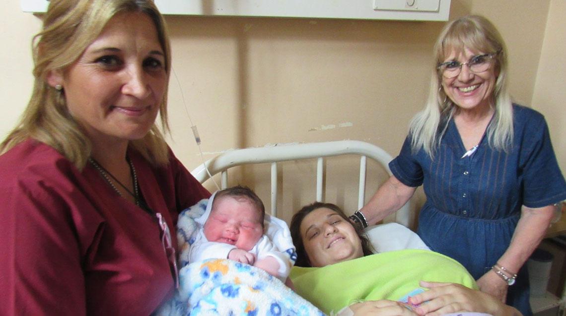 Nació Pedro el primer bebe del 2020