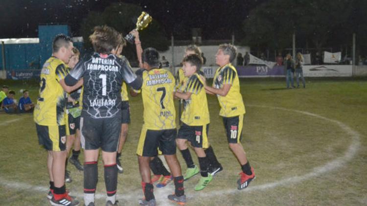 Finalizó Baby fútbol San Martín