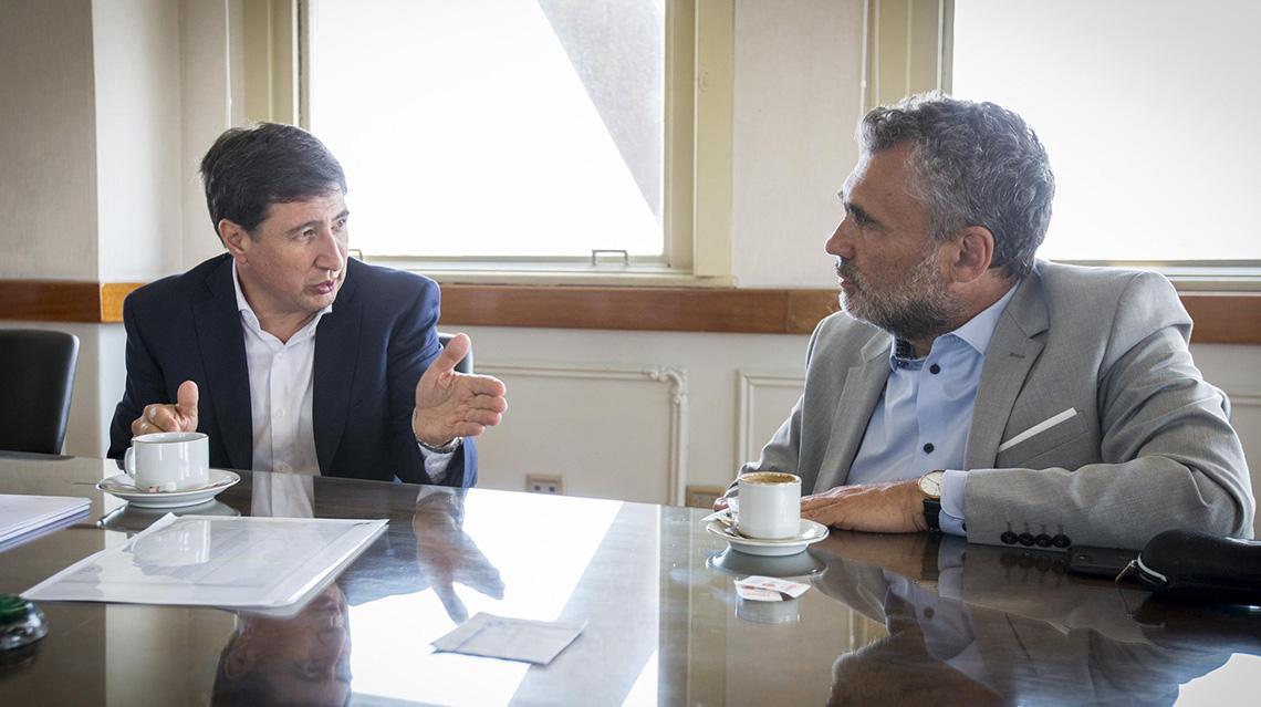 Vanoli y Arroyo se reunieron para avanzar con el plan argentina contra el hambre