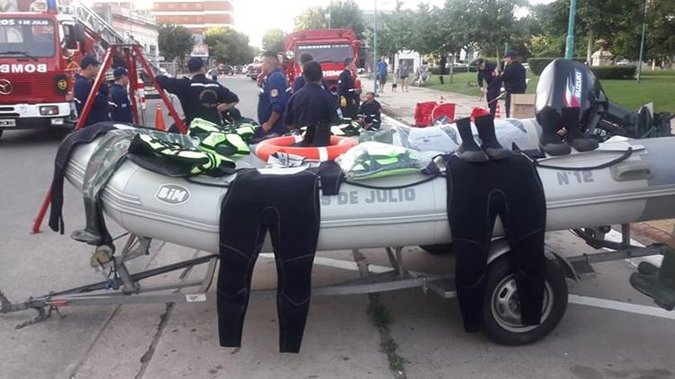Nuevo equipamiento para bomberos