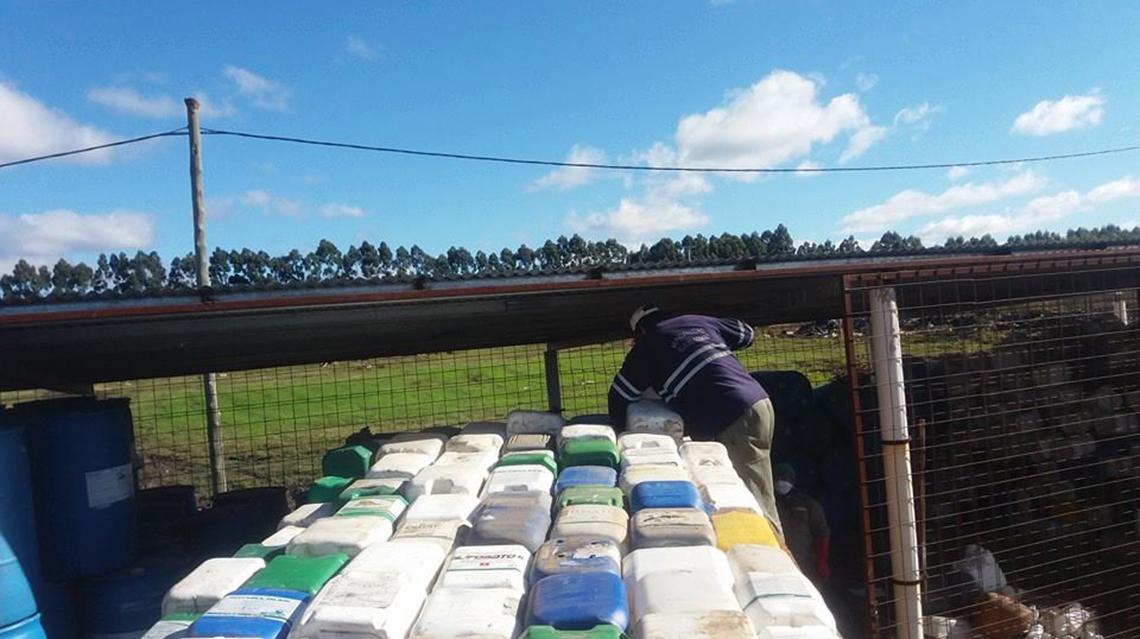 Se realizará recolección de envases vacíos de agroquímicos