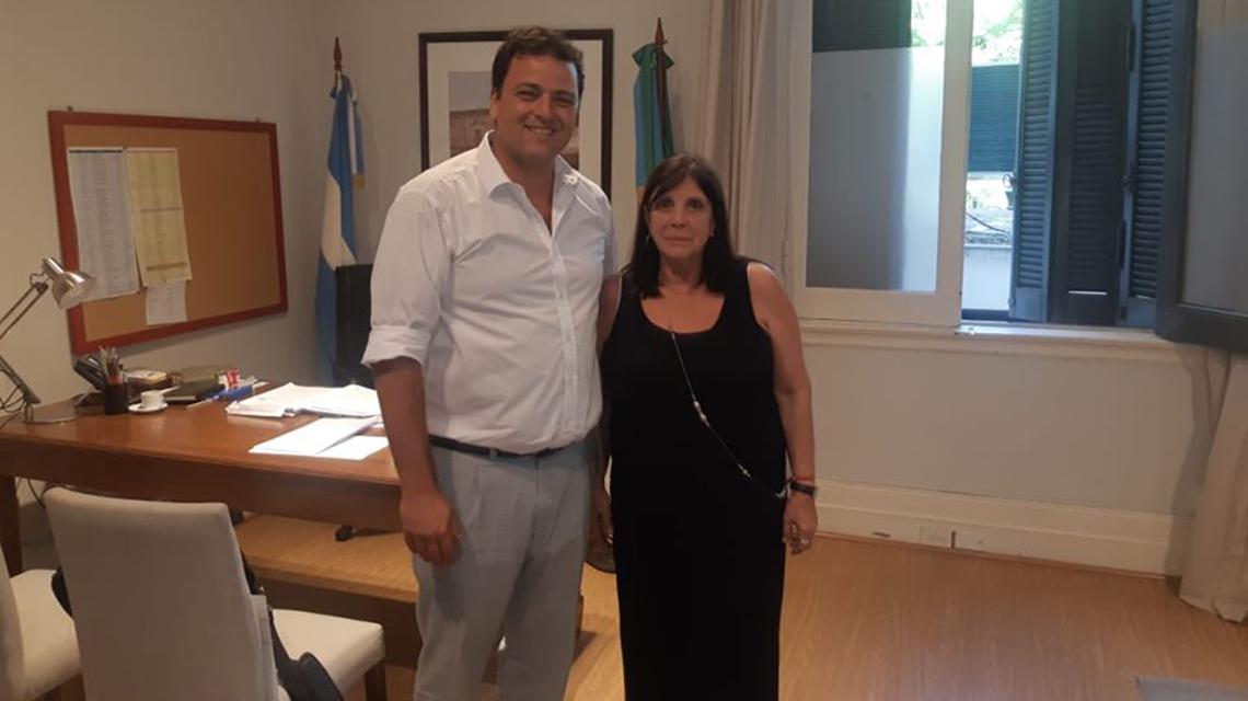 Barroso evaluó como positiva la reunión con la ministra de gobierno bonaerense