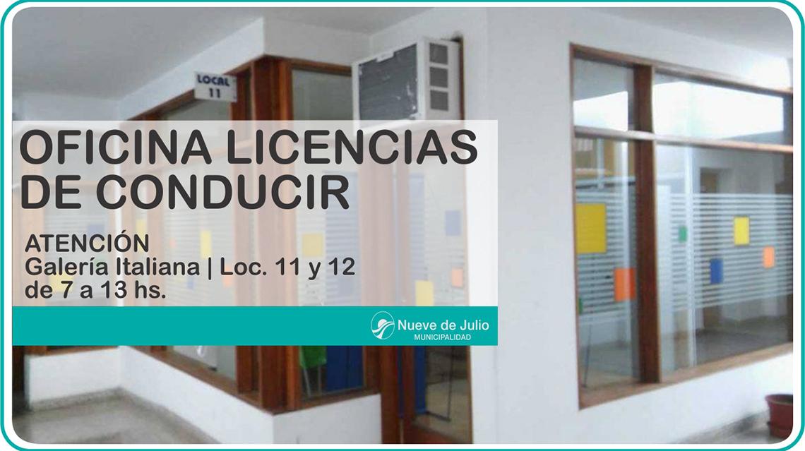 Nuevas clases de licencias