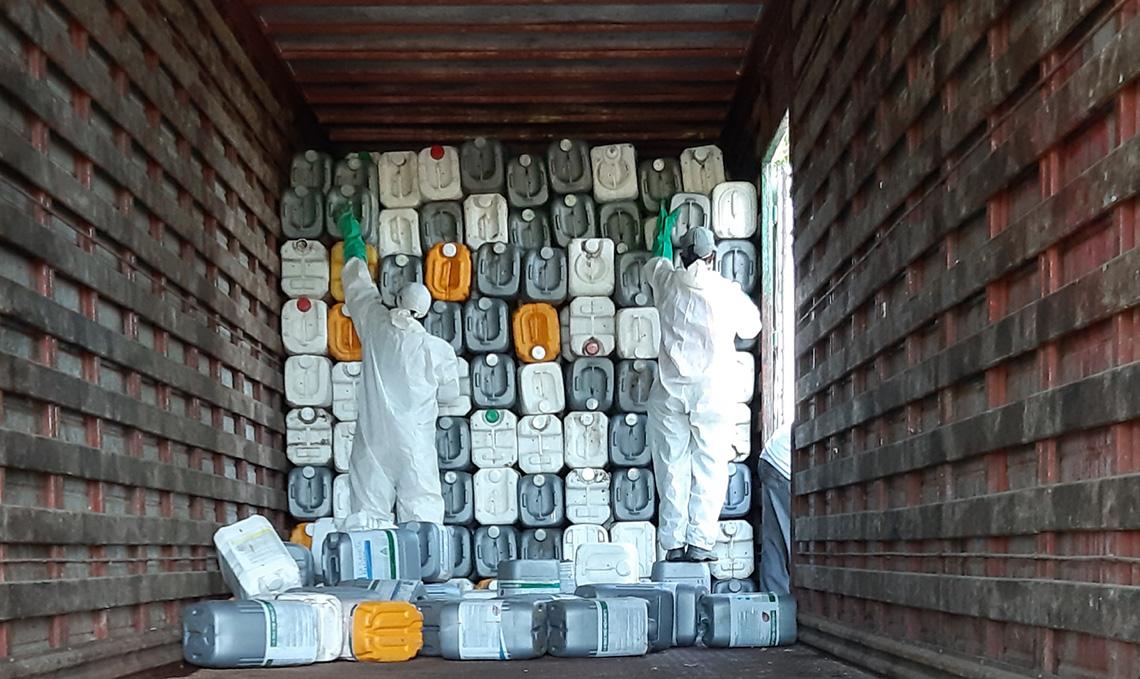 Finalizó la campaña de recolección de envases vacíos de agroquímicos