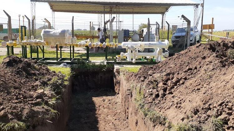 Importante obra desarrolla la CEyS para ampliar capacidad de red de gas natural