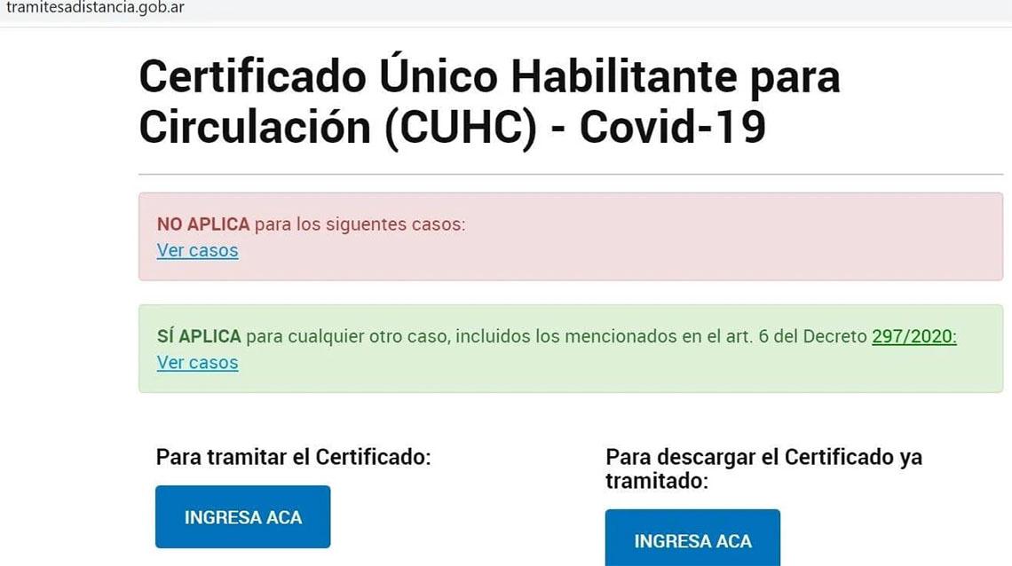 Certificado Único de Circulación