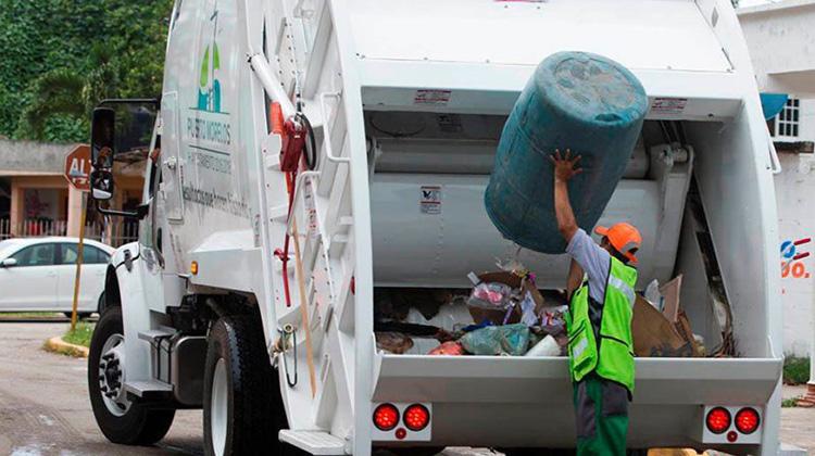 Cronograma: Recolección de residuos