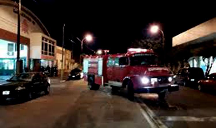 Vecino naonense rescatado por bomberos