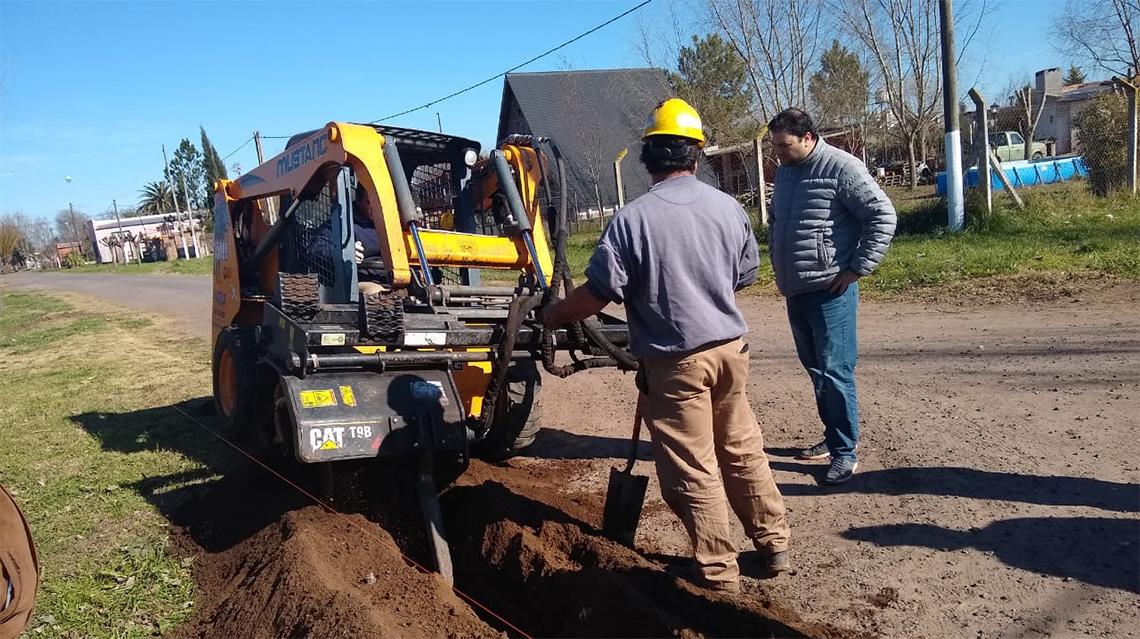 Inaugurarán obra de gas en El Provincial