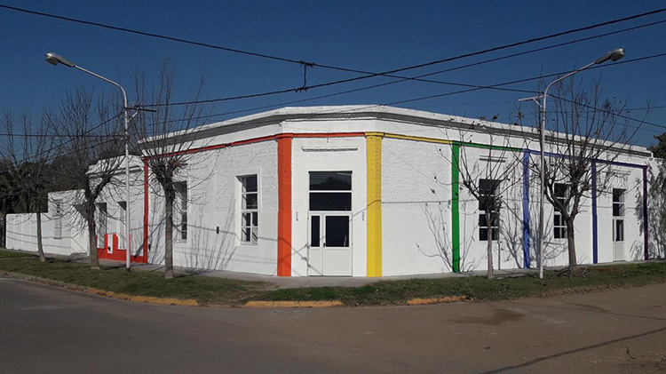 Se culminó la primera etapa de las obras en el CEC N° 803 de Quiroga