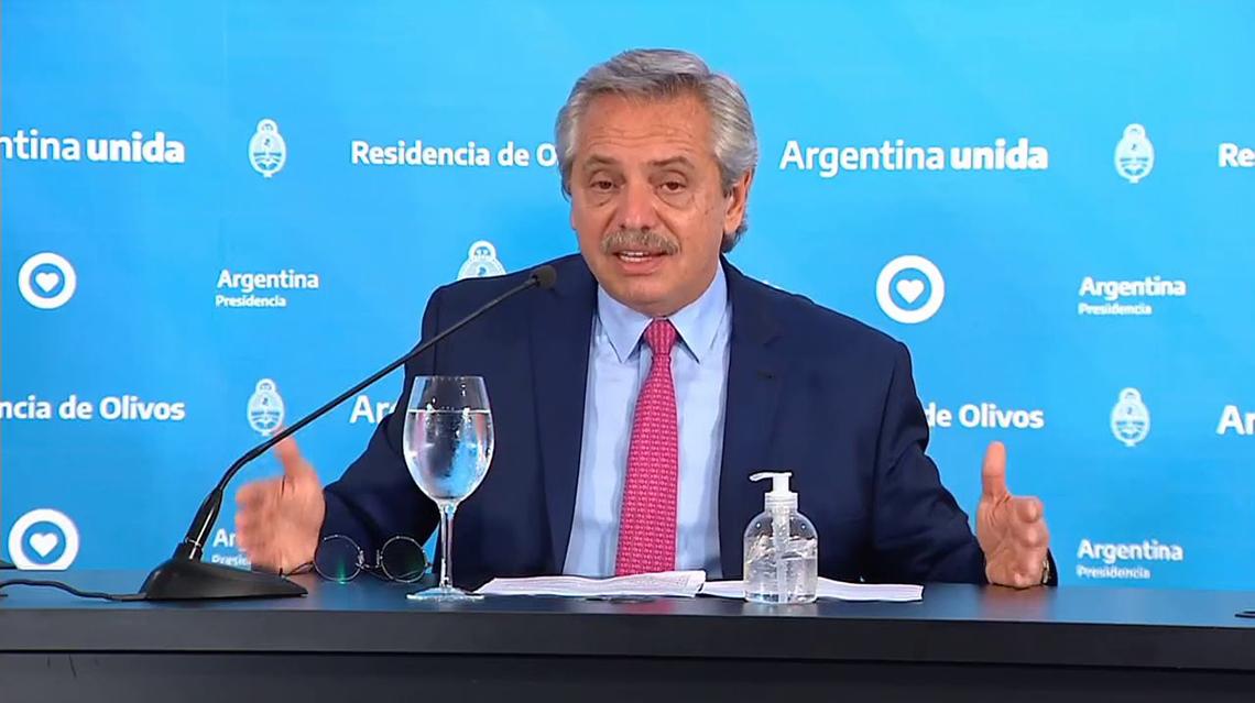 Alberto Fernández extiende la cuarentena hasta el 28 de junio