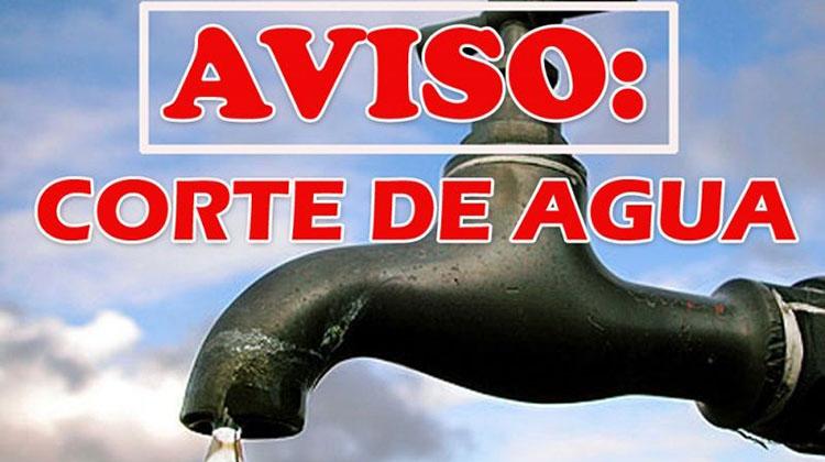 Corte de agua en Ciudad Nueva