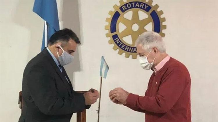 Nuevas autoridades del Rotary