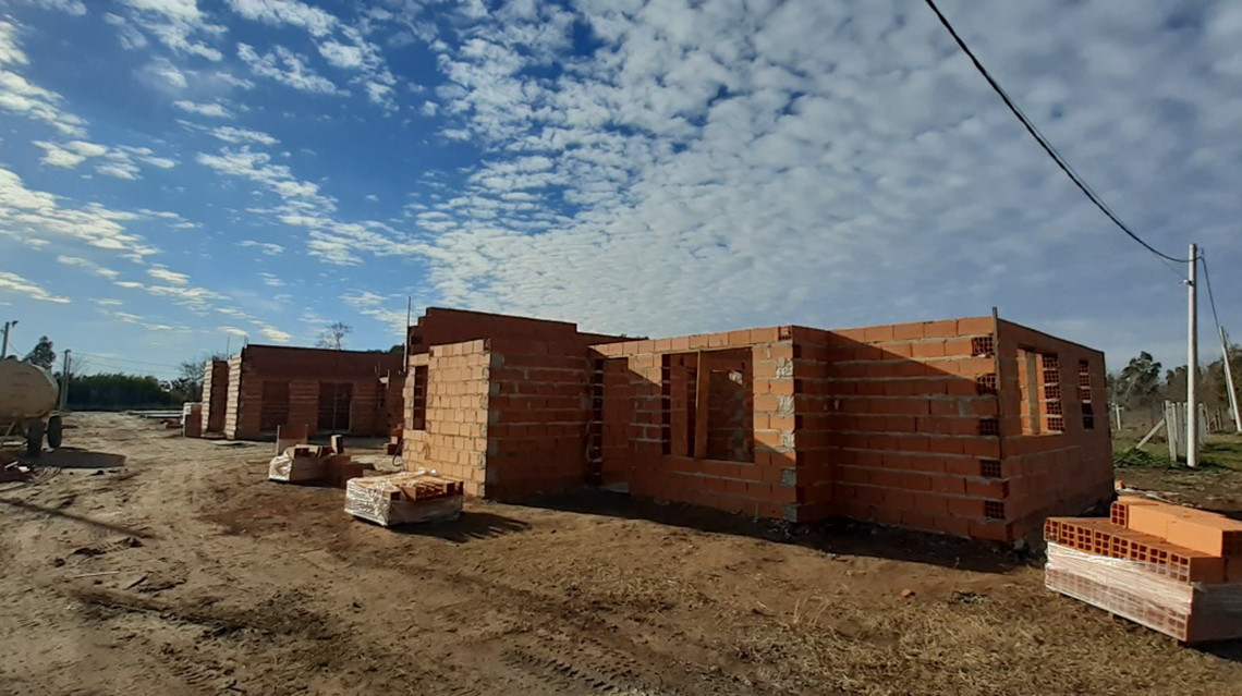 Marcados avances en el proyecto de viviendas de la CEyS