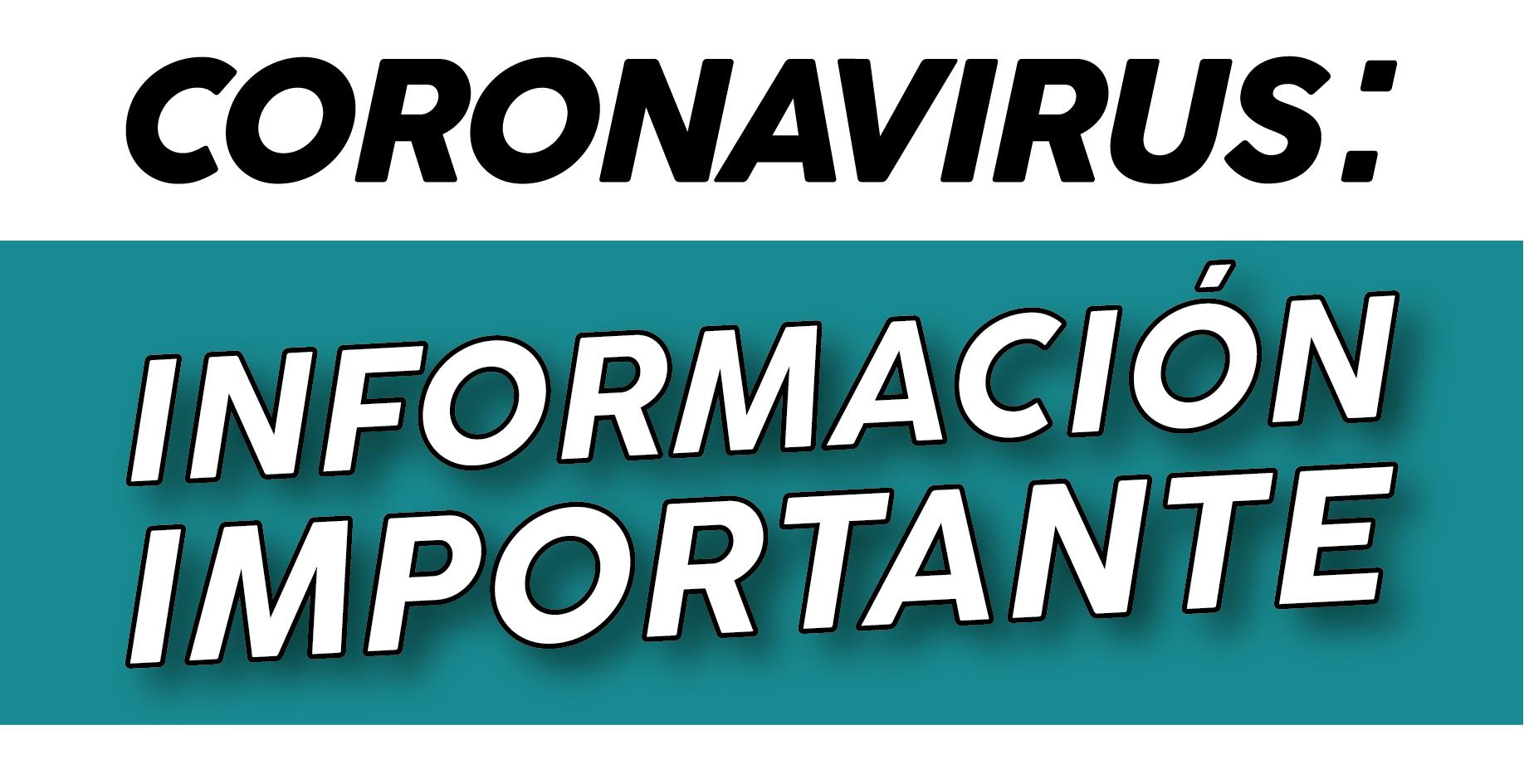 Se confirmó un caso de Coronavirus en nuestro distrito