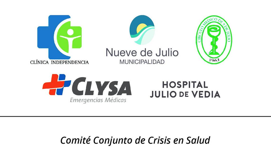 Nuevo caso de coronavirus en 9 de Julio