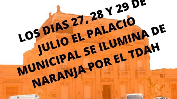 El municipio se iluminará de naranja