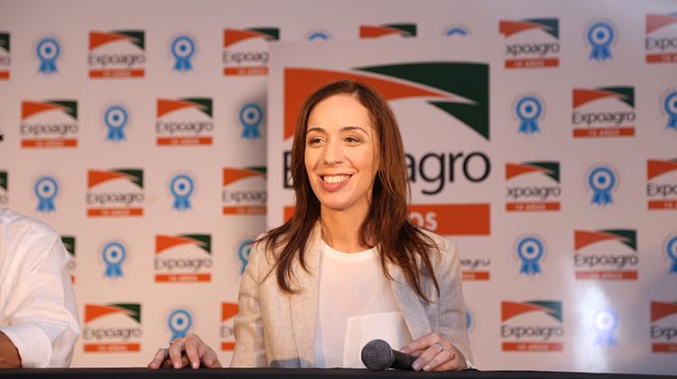 Vidal visitó la ExpoAgro