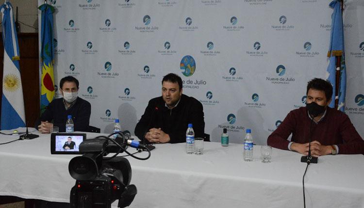 Barroso confirmó el retroceso a Fase 4 del distrito nuevejuliense