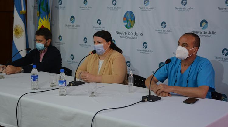 Conferencia de prensa del Comité de Crisis en Salud