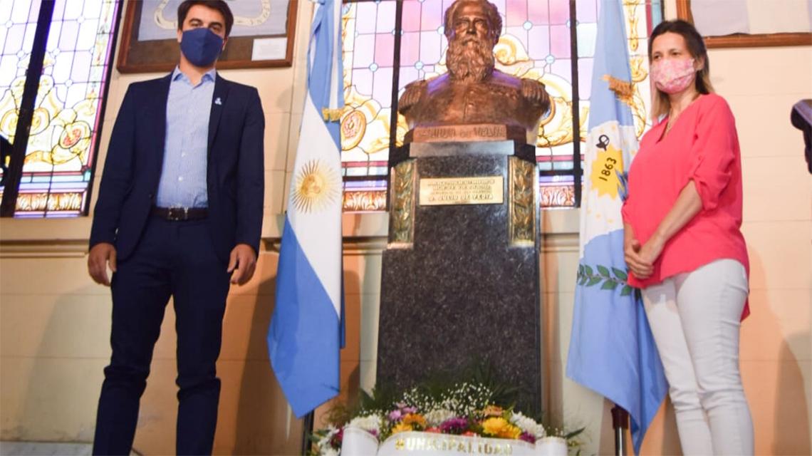 Sencillo homenaje en el marco del 157 Aniversario de la ciudad
