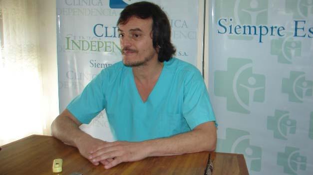 El Dr. Raúl Zapata concientiza sobre los aspectos de la Gripe A
