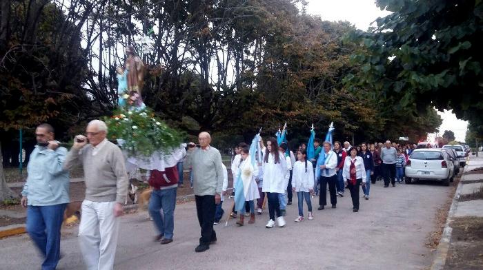 Dudignac celebró sus Fiestas Patronales