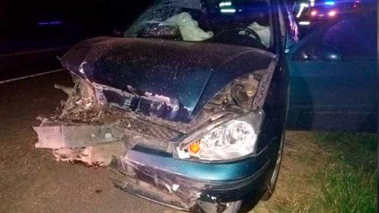 Accidente en la Ruta 5