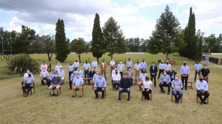 Reunión de jefes comunales