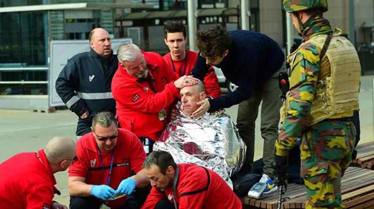 Atentados en Bruselas: terror en el metro