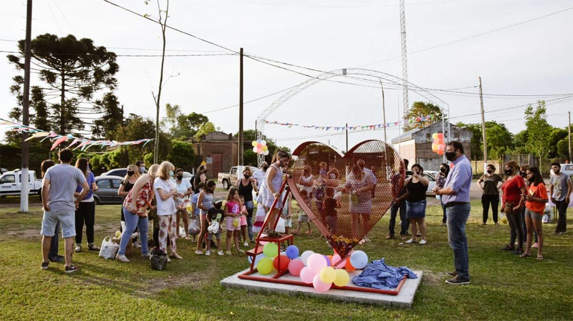 """El Provincial inauguró """"el corazón"""""""